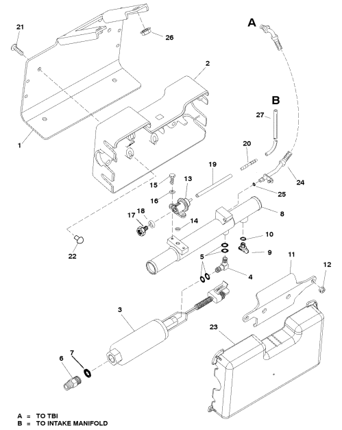 small resolution of fuel pump and fuel cooler for mercruiser 350 mag mpi bravo rh jamestowndistributors com mercruiser 5 7 engine diagram mercruiser alpha one diagram