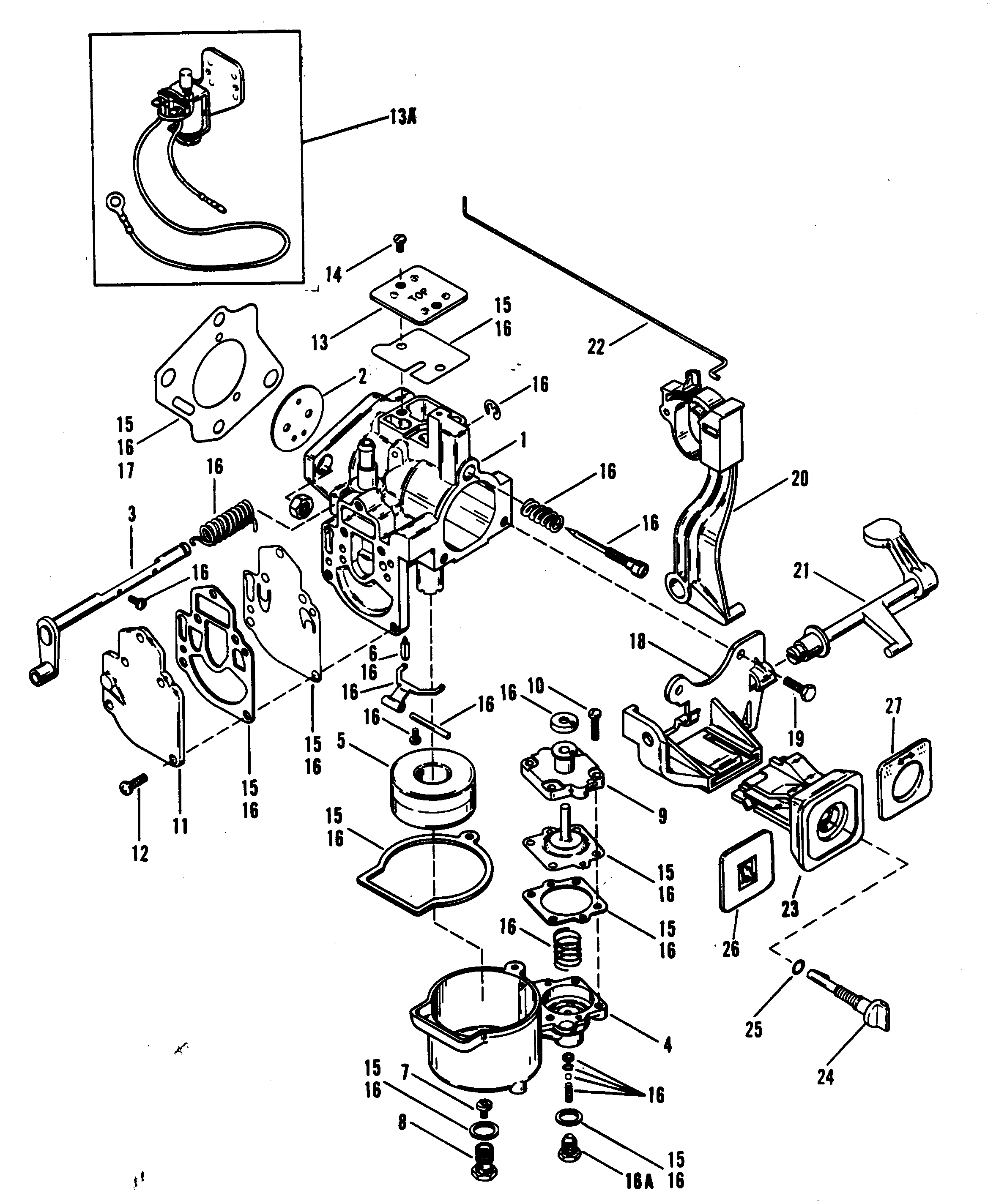 1986 Toyota Pickup Carburetor Diagram