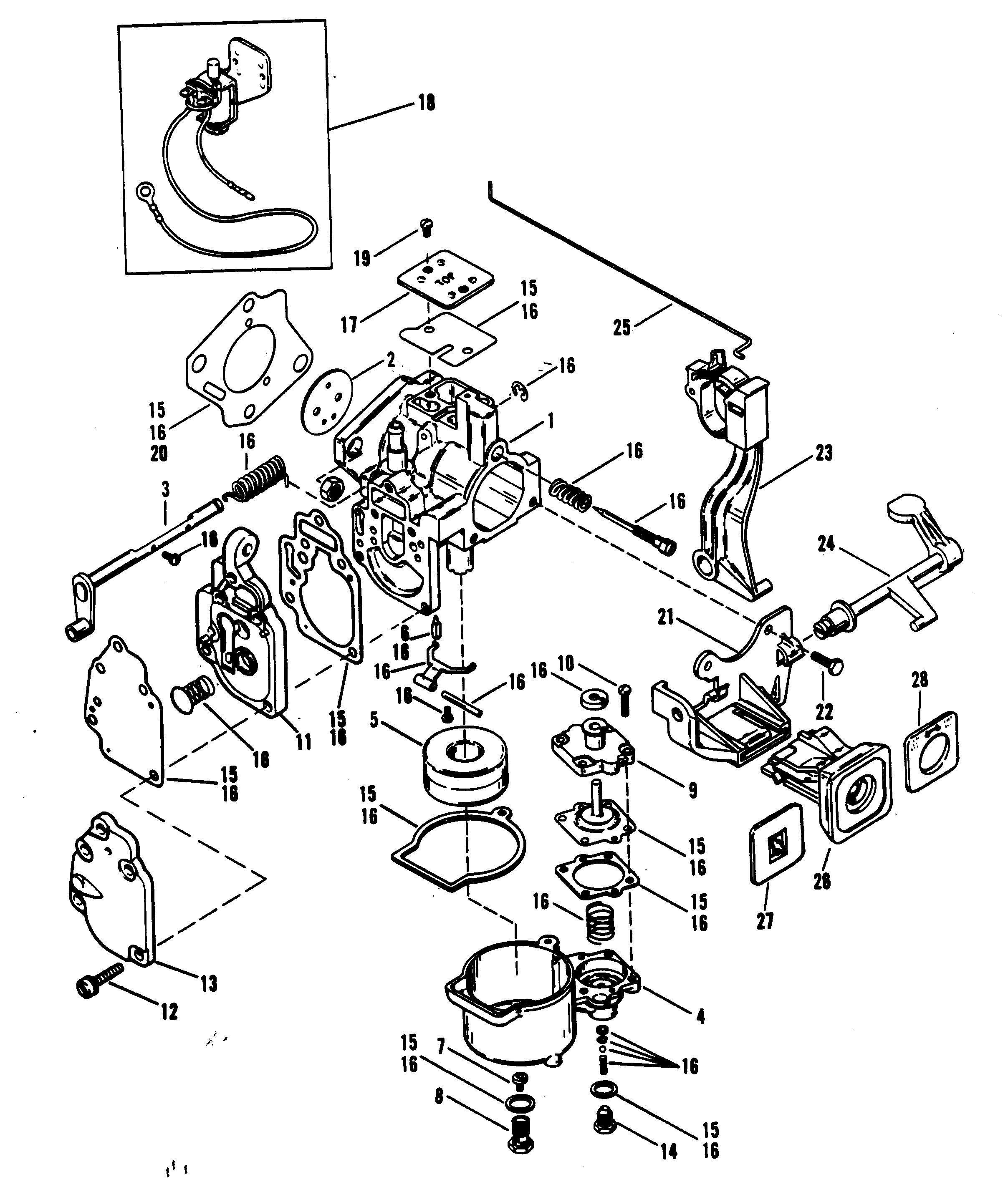 mercury outboard wiring diagram of 3 way switch 25 hp parts get free image