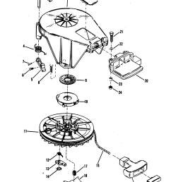 starter assembly manual for mariner mercury 18 20 25 h p xd  [ 2214 x 2890 Pixel ]