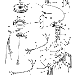1976 Evinrude 70 Hp Wiring Diagram Ps2 Keyboard Color Mercury 75 Auto Electrical 1986 Outboard