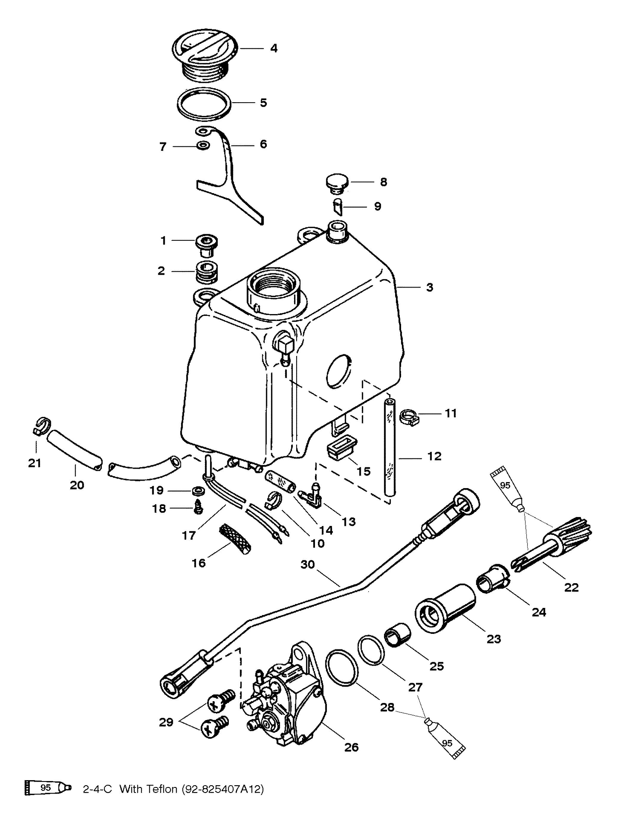 Mariner Magnum 40 Hp Wiring Diagram - Schematic Liry on