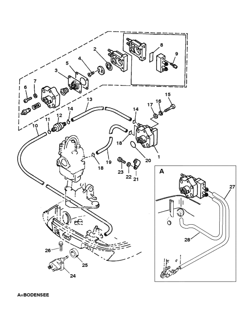 small resolution of fuel pump for mariner mercury 9 9 8 bondensee 4 stroke 1996 mercury marine mercury outboard 1f10203sd fuel pump diagram and
