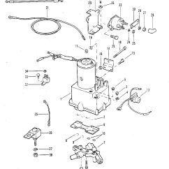 Mercruiser Trim Pump Wiring Diagram Nissan Patrol Stereo Power Components With Circuit Breaker And Fuse For