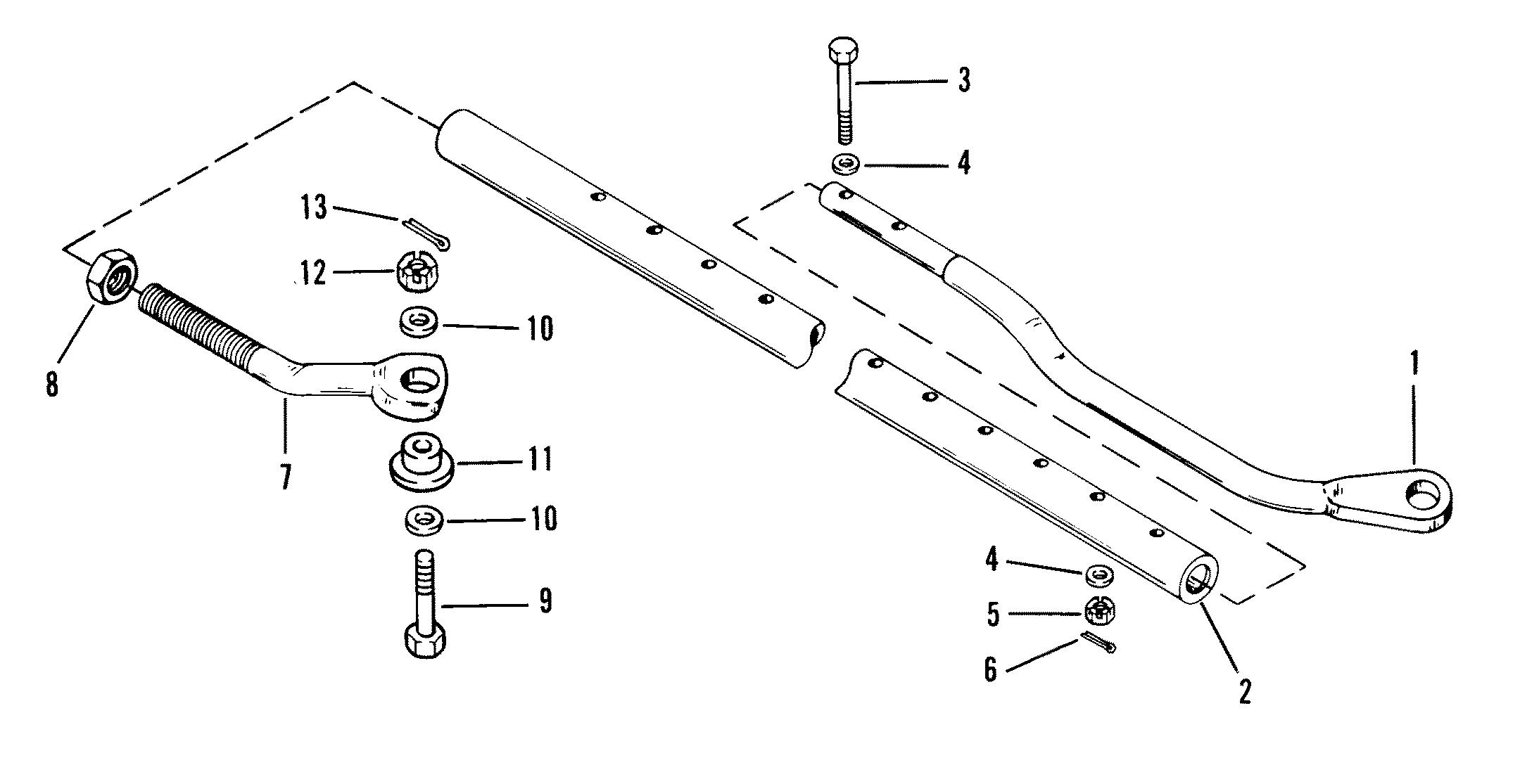 Dual Engine Tie Bar Kit For Accessories Mercruiser Volume I