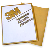 3M Gold Sandpaper 9 x 11 Sheets