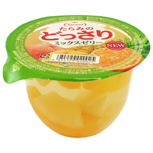 Tarami Fruit Jelly With Mixed Fruit Chunks, - Japan Centre - Dessert