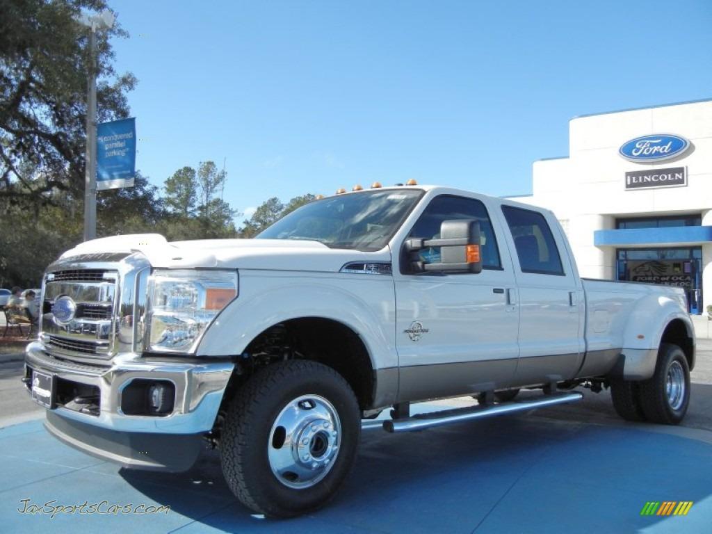 hight resolution of 2012 f350 super duty lariat crew cab 4x4 dually white platinum metallic tri coat