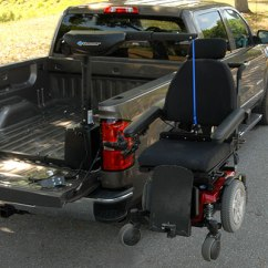 Wheelchair Lift For Truck Chair Cover Hire East Yorkshire Harmar Lifts Scooter Sale United Access Al425hd Axis Ii 2 Inside Hd