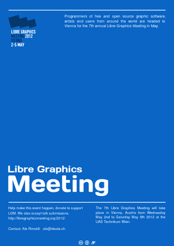Libre Graphics Meeting - Free Graphic Design Conference for Open Source Software