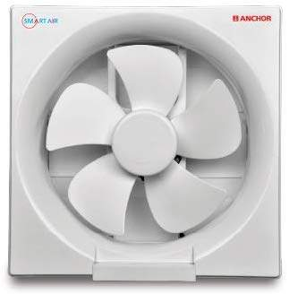 anchor smart air high speed ventilation exhausted fan 150mm white