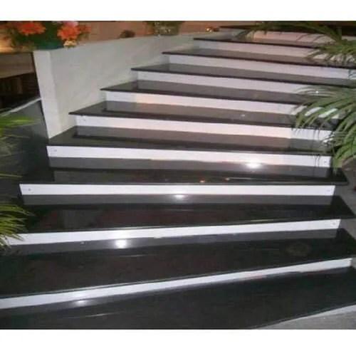 Black And White Granite Designer Stairs At Best Price Black And White Granite Designer Stairs By Dharajyot Stone Art In Surendra Nagar Gujarat Justdial
