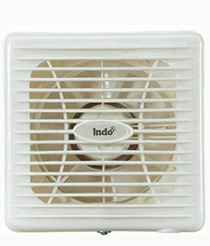 indo axial white vantilation exhaust fan 6 inch