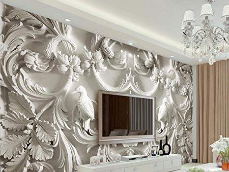 Living Room 3d Wallpaper At Best Price Living Room 3d Wallpaper By In Chennai Justdial