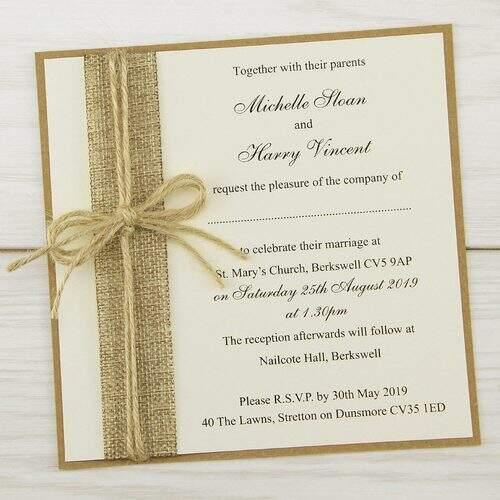Wedding Invitation Card At Best Price