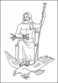 Contes pour enfants les dieux de l'olympe dans la