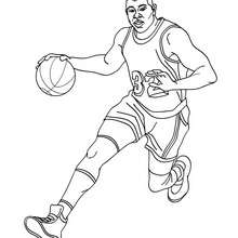 Russell Westbrook Coloring Pages Sketch Coloring Page