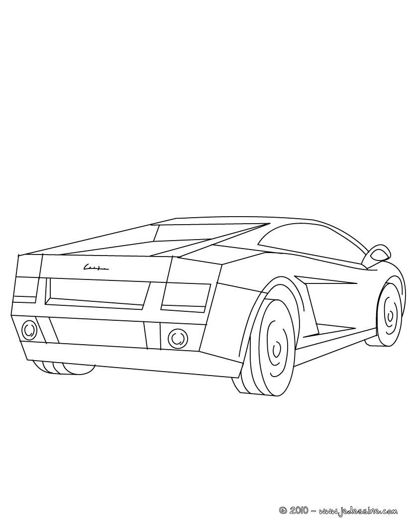 Lamborghini Gallardo A Colorier