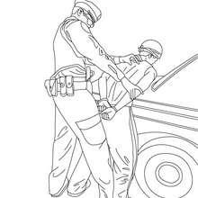 Policier : Lire et apprendre, Coloriages, Vidéos et