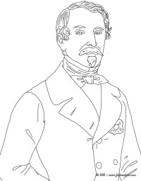 Coloriages coloriage de louis napoleon bonaparte - fr ...