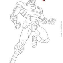 Spider Man Holding Captain America Shield Coloring Pages