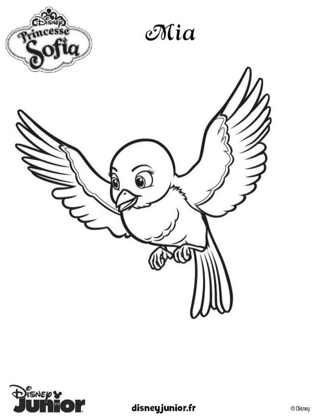 Coloriage PRINCESSE SOFIA - coloriages GRATUITS à imprimer sur