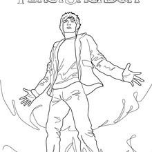 Percy Jackson : Vidéos et Tutoriels, Coloriages