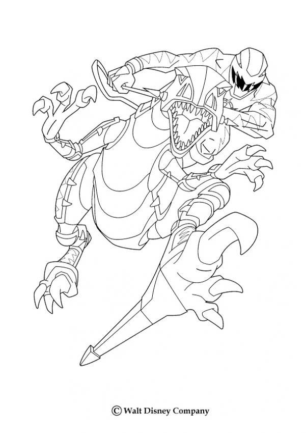 Ranger Jaune Coloriage De Ninja Et Le Dino Coloriage Coloriage Dessins Animes Coloriage Power Rangers Robot