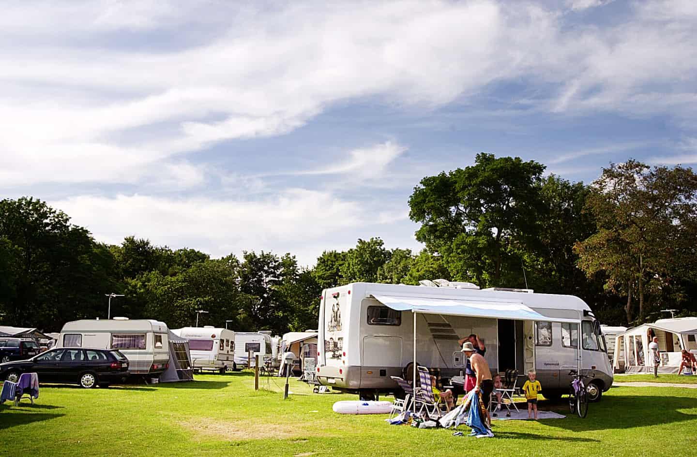 Campingvogn Pa Omme A Camping Blev Gennemrodet Jv Dk
