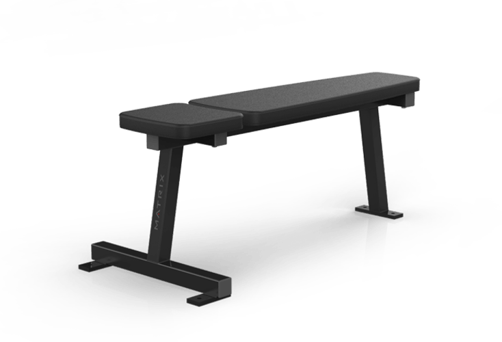 flat bench free weights