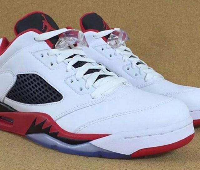 Air Jordan  Low Fire Red