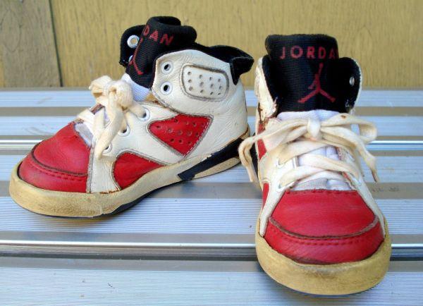 Baby Air Jordan 6 Carmines Survived 25 Years