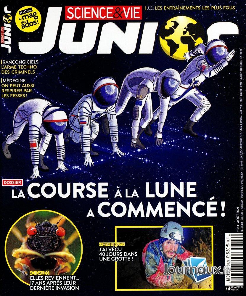Sciences Et Vie Junior Age : sciences, junior, Www.journaux.fr, Science, Junior