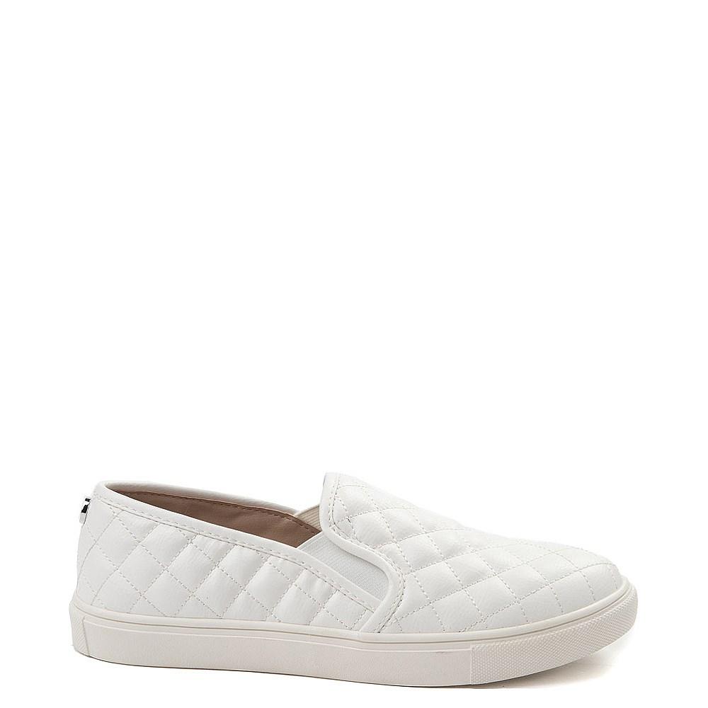 All White Slip On Shoes
