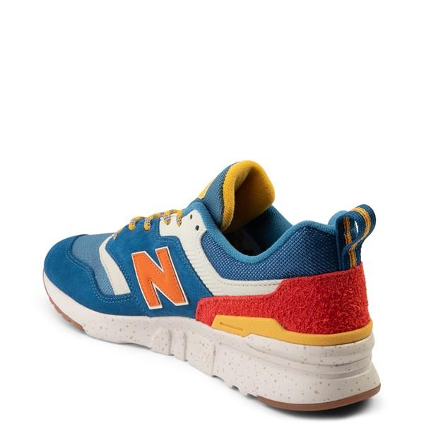 Mens New Balance 997H Athletic Shoe - Blue / Orange | Journeys Kidz