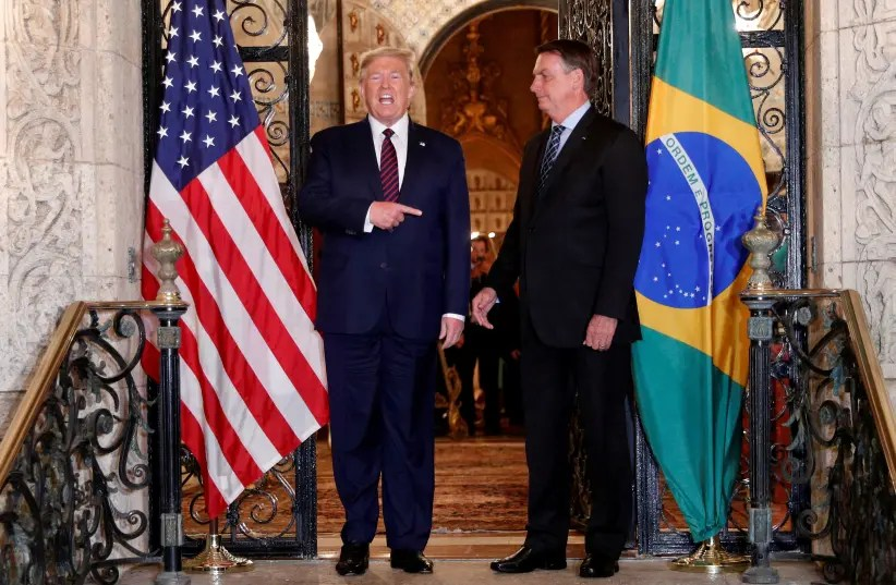 Brazilian official diagnosed with coronavirus met with Trump - The ...
