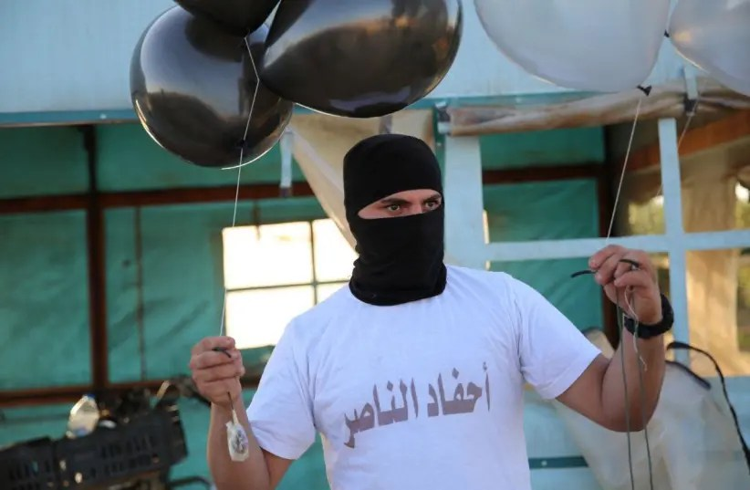 First incendiary balloon since operation sparks fire in southern Israel