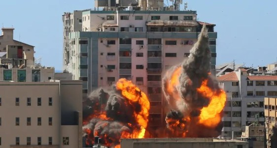 Erdan: Hamas tried to develop Iron Dome-busting tech in AP Gaza building