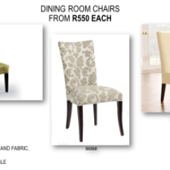 Metal Dining Chairs Johannesburg Faux Leather Chair Repair Kit Great Savings On Custom Made Junk Mail