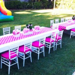 Kiddies Chair Covers For Hire Magis Spun Parties With Tiffany Chairs Junk Mail