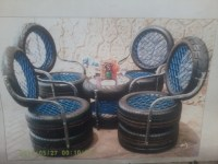 Tyre chairs