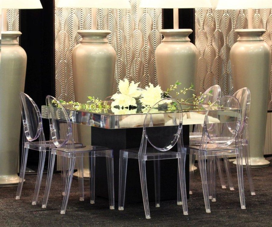 New Louis Ghost chairs Banquet and Tiffany chairs