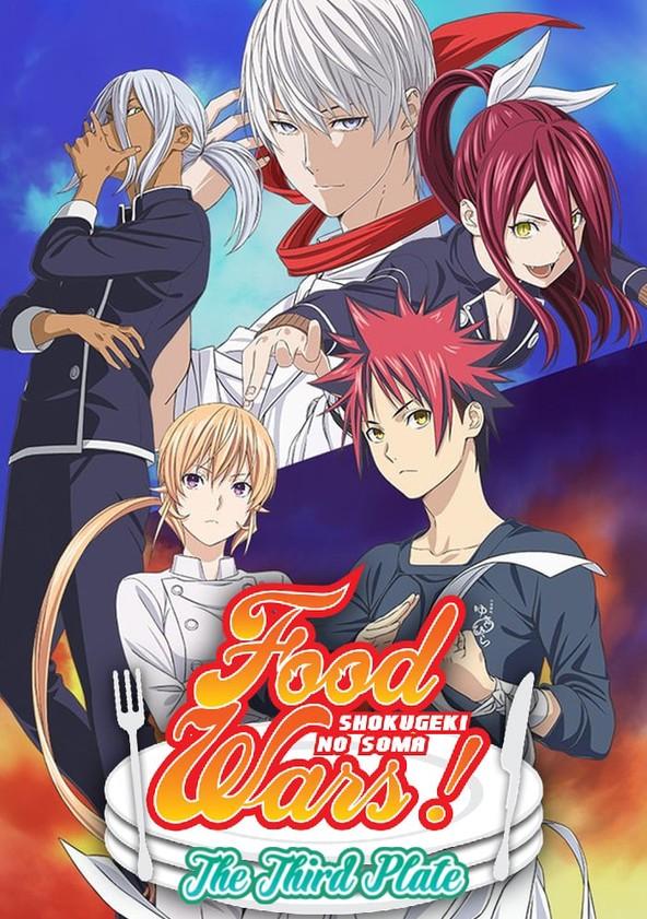 Saison 4 Food Wars : saison, Wars!, Shokugeki, Season, Episodes, Streaming, Online