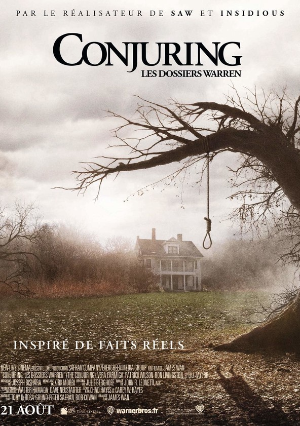 Conjuring Les Dossiers Warren Streaming : conjuring, dossiers, warren, streaming, Regarder, Conjuring, Dossiers, Warren, Streaming