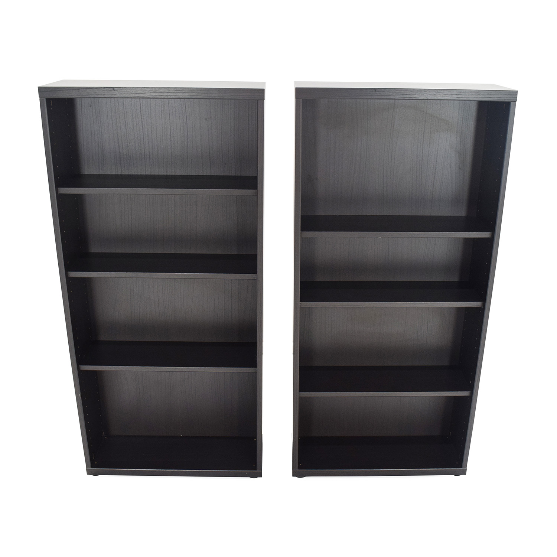 50 Off Ikea Pair Of Bookshelves Storage