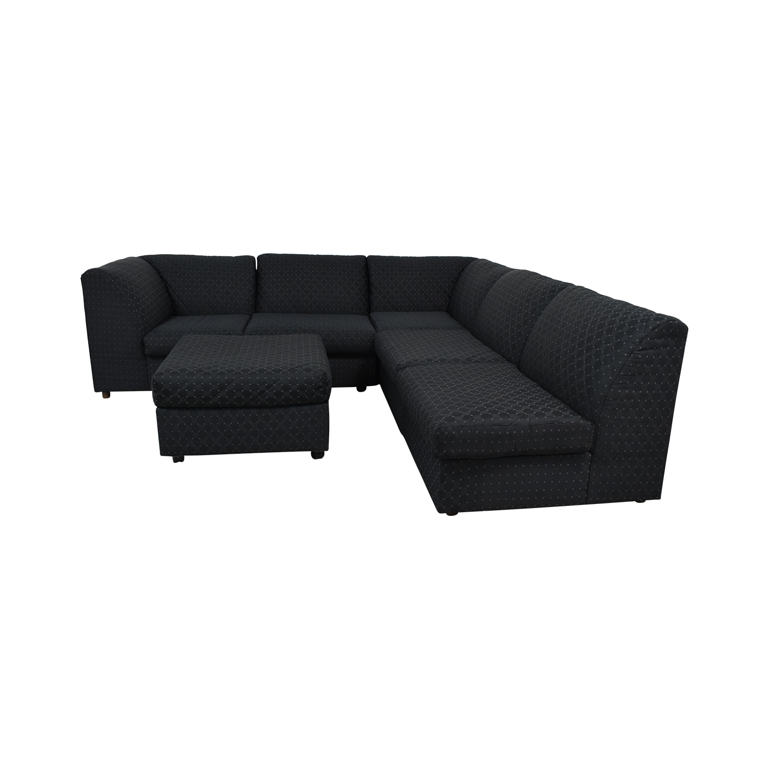 broyhill claremont sectional grey