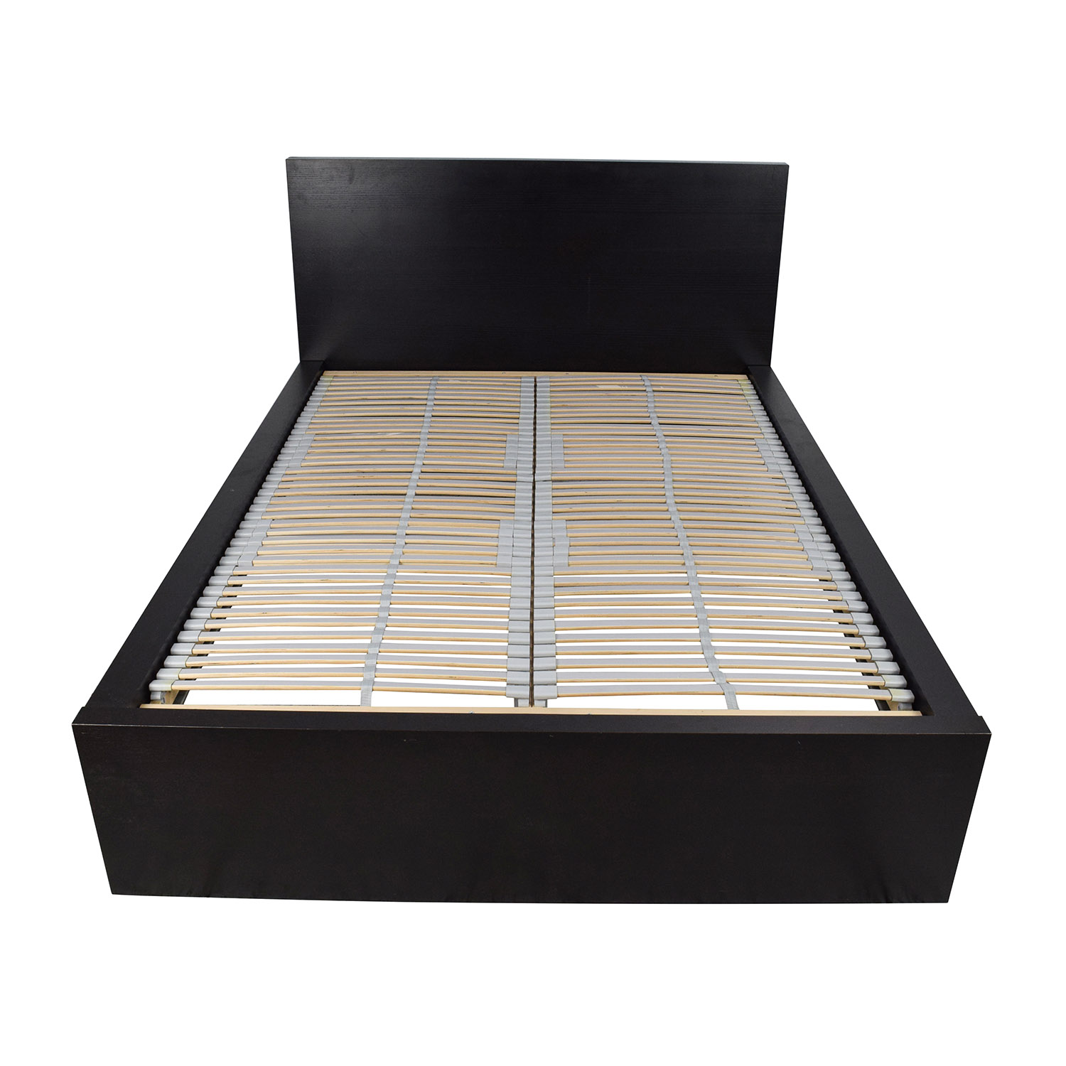 77 Off Ikea Ikea Full Bed Frame With Adjustable Slats Beds