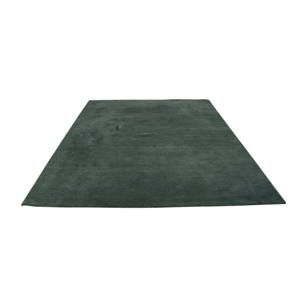 65 - Crate & Barrel Green Area Rug Decor
