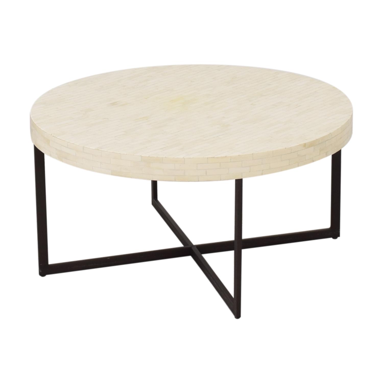 42 off west elm west elm bone coffee table tables