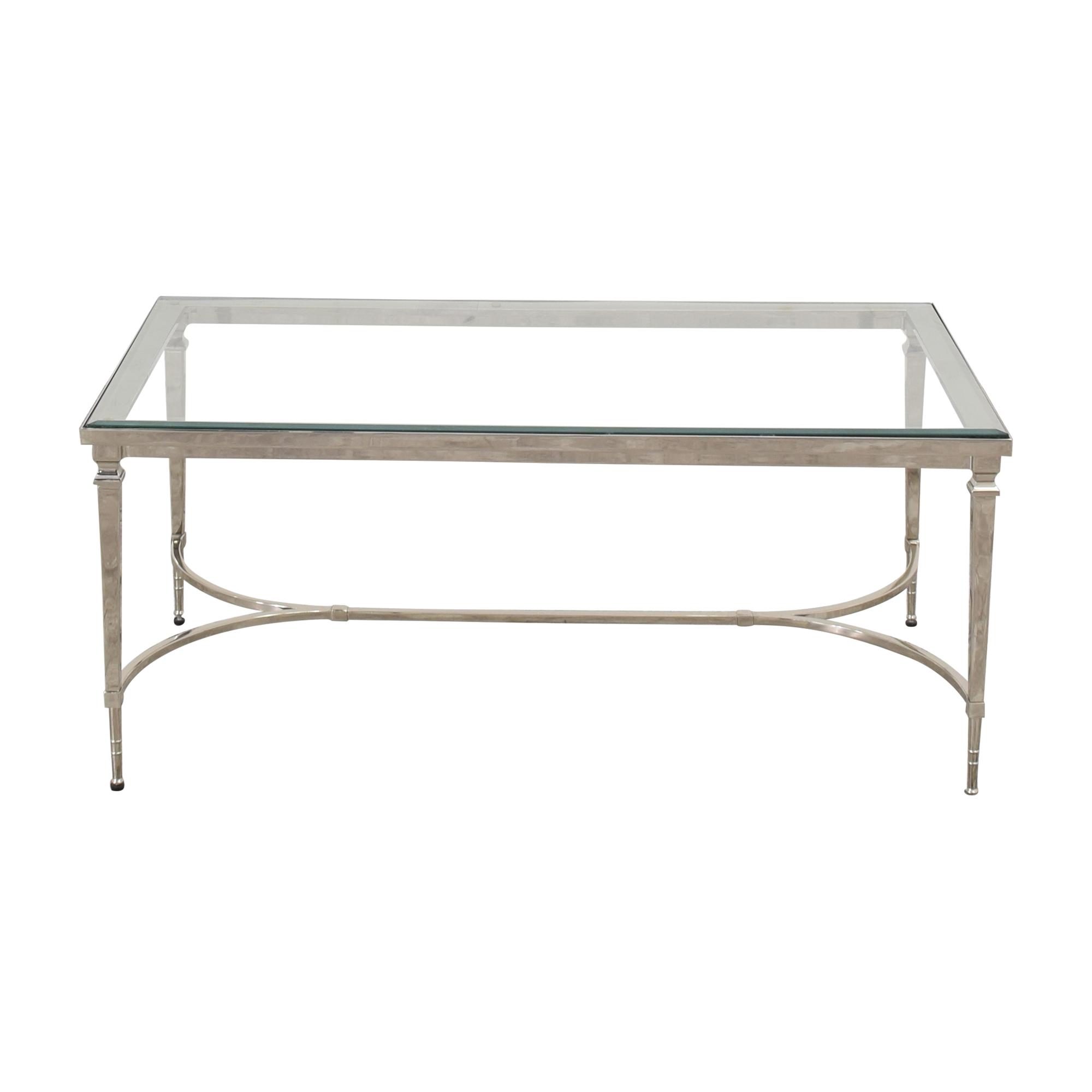 53 off williams sonoma williams sonoma cosmopolitan coffee table tables